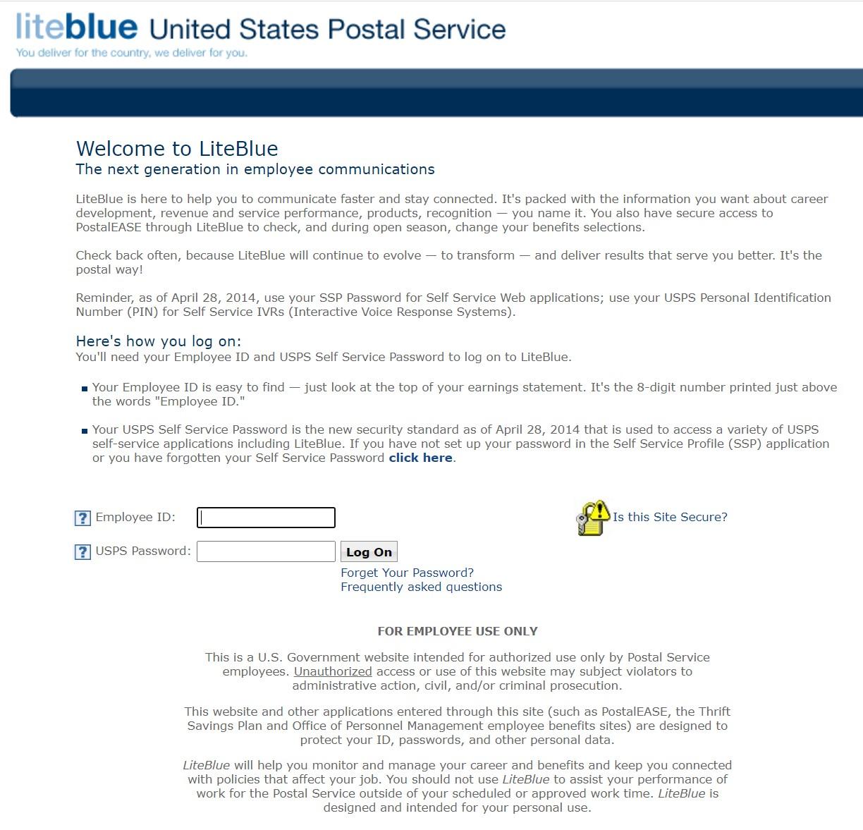 LiteBlue USPS Login Page – A Comprehensive Guide